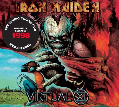 CD IRON MAIDEN VIRTUAL XI 1998 REMASTERED*
