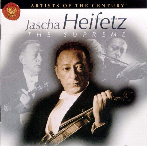 CD JASCHA HEIFETZ - HEIFETZ THE SUPREME