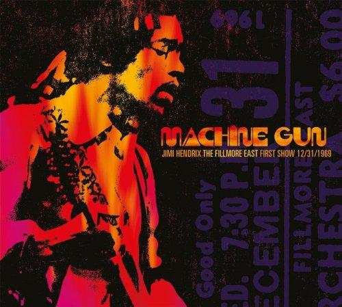 CD JIMI HENDRIX - MACHINE GUN - FIRST SHOW 1969