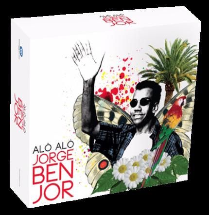 CD JORGE BEN JOR - ALÔ ALÔ ... BOX COM 5 CDS