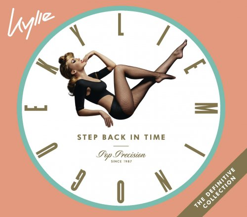 CD KYLIE MINOGUE - STEP BACK IN TIME - CD DUPLO