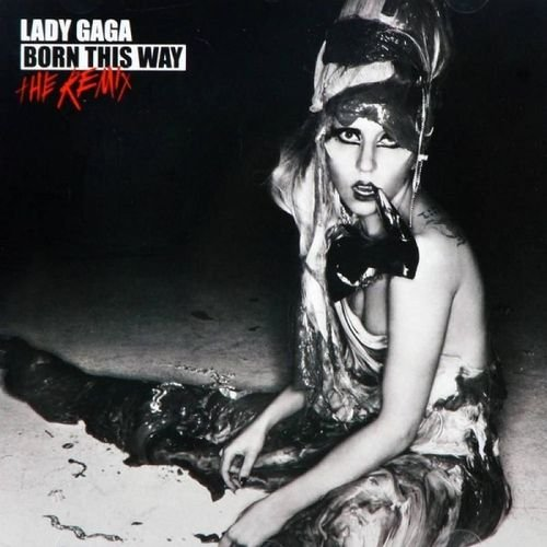 CD LADY GAGA - BORN THIS WAY - THE REMIX