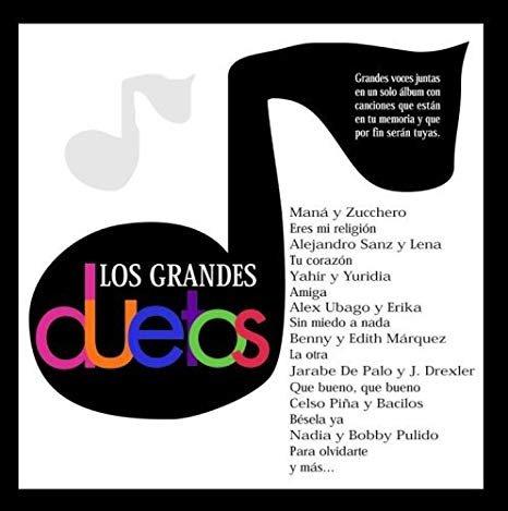 CD LOS GRANDES DUETOS