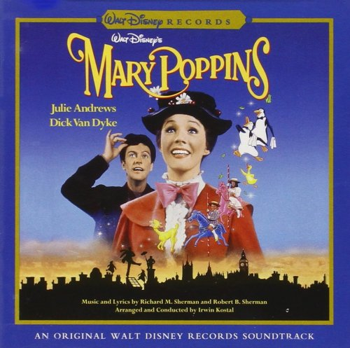 CD MARY POPPINS - AN ORIGINAL WALT DISNEY RECORDS SOUNDTRACK (2002)