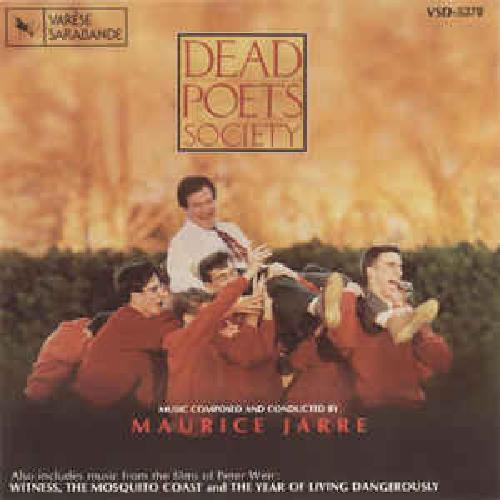 CD MAURICE JARRE - DEAD POETS SOCIETY - SOCIEDADE DOS POETAS MORTOS (TRILHA)