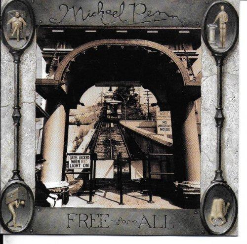 CD MICHAEL PENN - FREE-FOR-ALL (1992)
