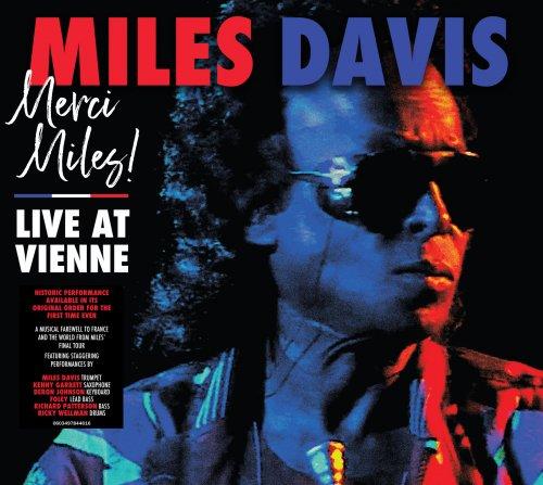 CD MILES DAVIS - MERCI MILES! LIVE AT VIENNE (DUPLO - 2 CDS) - PRÉ-VENDA LANÇAMENTO 25/06