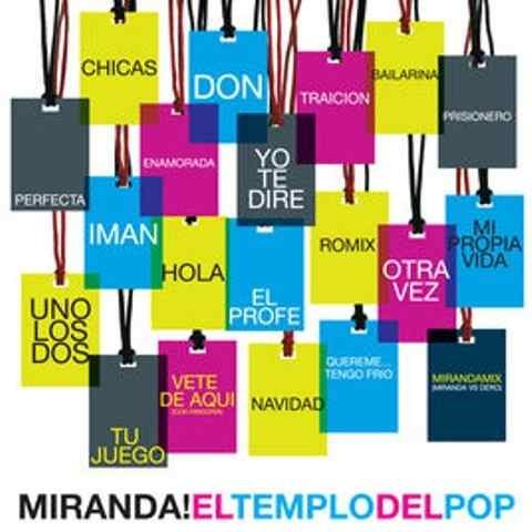 CD MIRANDA! - EL TEMPLO DEL POP