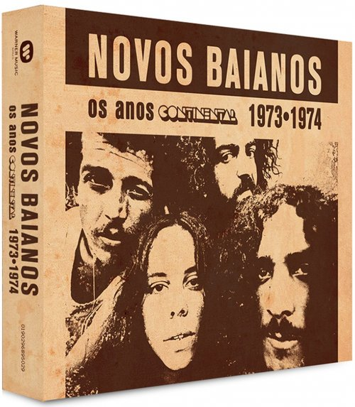 CD NOVOS BAIANOS (2 CDs) - 1973 & 1974 - OS ANOS CONTINENTAL - REMASTERIZADO