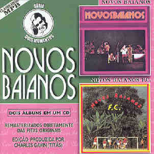 CD NOVOS BAIANOS - SERIE DOIS MOMENTOS