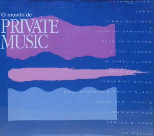 CD O MUNDO DE PRIVATE MUSIC