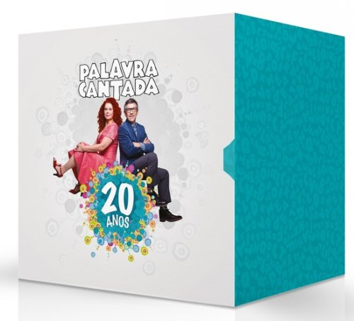 CD PALAVRA CANTADA - BOX 12 DISCOS