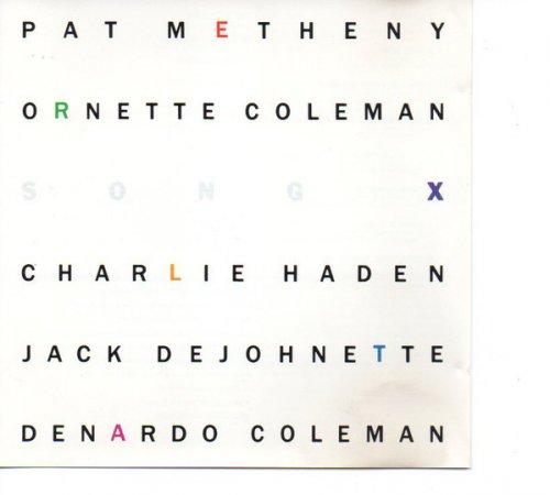 CD PAT METHENY E ORNETTE COLEMAN - SONG X