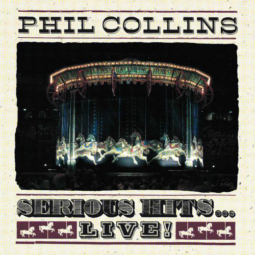 CD Phil Collins - Serious Hits... Live! - acrílico