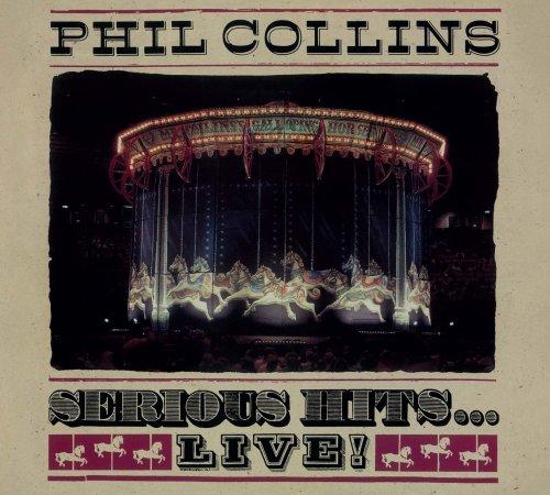 CD PHIL COLLINS - SERIOUS HITS ... LIVE! - VERSÃO REMASTERIZADA EM DIGIPACK
