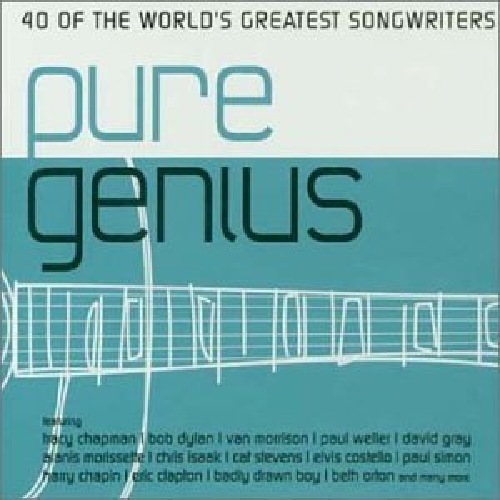 CD PURE GENIUS - 40 OF THE WORLD'S GREATEST SONGWRITERS 2002
