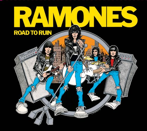 CD - RAMONES - ROAD TO RUIN (REMASTERED) -  40th ANIVERSARY EDITION
