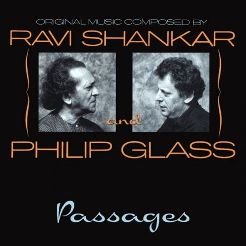 CD RAVI SHANKAR AND PHILIP GLASS - PASSAGES