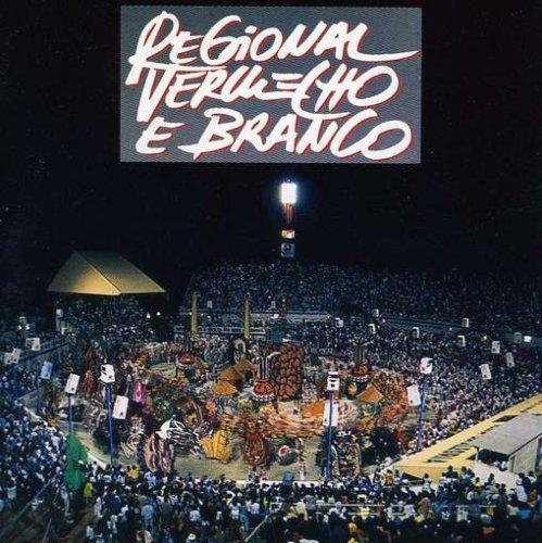 CD REGIONAL VERMELHO E BRANCO