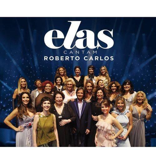 CD ROBERTO CARLOS - ELAS CANTAM ROBERTO CARLOS (DUPLO)