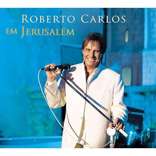 CD ROBERTO CARLOS -  EM JERUSALÉM (CD DUPLO - 2 CDS)