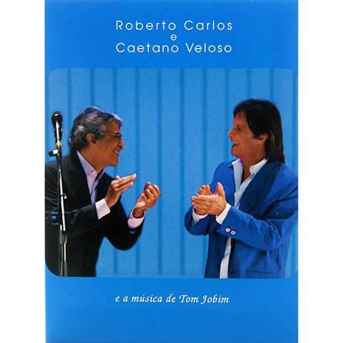 CD ROBERTO CARLOS E CAETANO VELOSO - A MÚSICA DE TOM JOBIM