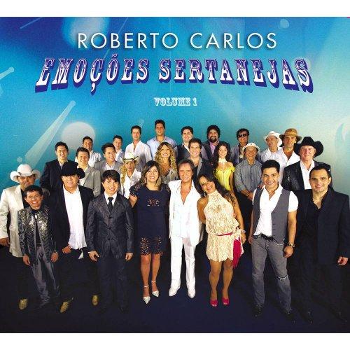 CD ROBERTO CARLOS - EMOÇÕES SERTANEJAS (VOLUME 1)