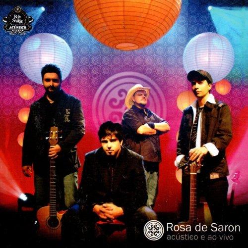 CD ROSA DE SARON - ACÚSTICO E AO VIVO