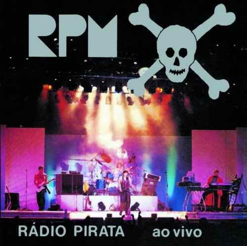 Cd Rpm - Rádio Pirata Ao Vivo - Original Lacrado