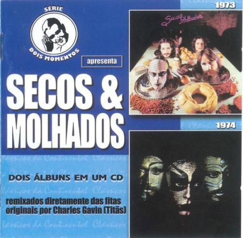 CD SECOS E MOLHADOS - 1973 / 1974 - SERIE DOIS MOMENTOS