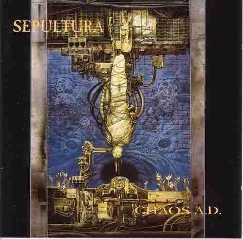 CD SEPULTURA -CHAOS A.D. ( Versao em Acrílico 1996 - Raridade) - Original Lacrado
