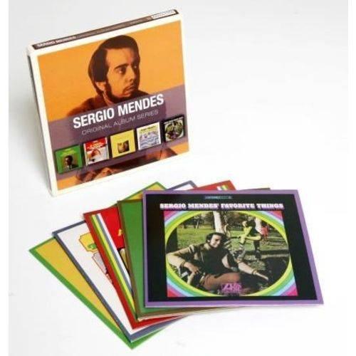 CD SERGIO MENDES - ORIGINAL ALBUM SERIES (5CDS BOX SET)
