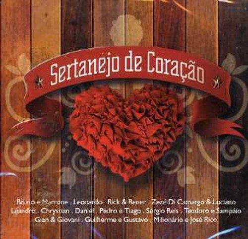 CD SERTANEJO DE CORACAO - COLETANEA