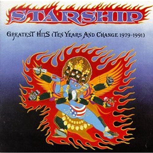 CD STARSHIP - GREATEST HITS TEN YEARS AND CHANGE 1979-1991