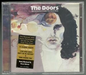 CD - THE DOORS (DUPLO) - WEIRD SCENES INSIDE THE GOLD MINE -  ORIGINAL LACRADO - LOTE AA 2000