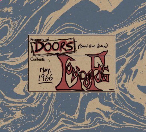 CD THE DOORS - LONDON FOG 1966 AO VIVO