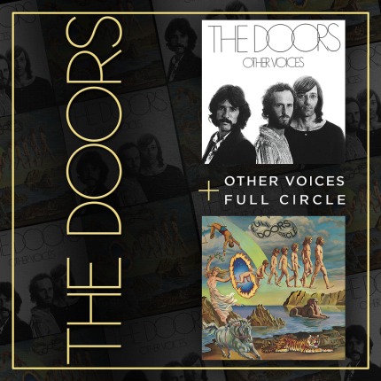 CD THE DOORS - OTHER VOICES + FULL CIRCLE  2 CDS