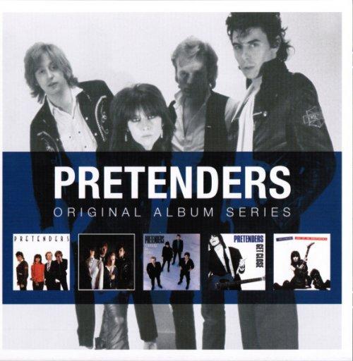 CD THE PRETENDERS - ORIGINAL ALBUM SERIES