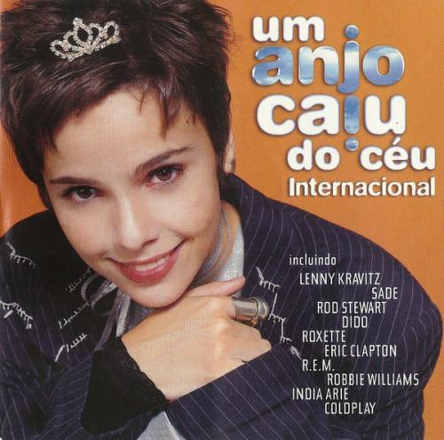 CD UM ANJO CAIU DO CÉU - INTERNACIONAL - TRILHA SONORA DE NOVELAS