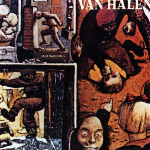 CD VAN HALEN - FAIR WARNING (REMASTERED)