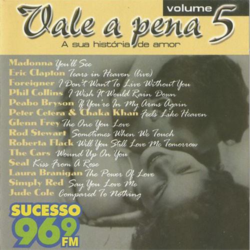 CD VARIOS - VALE A PENA, A SUA HISTÓRIA DE AMOR VOLUME 5