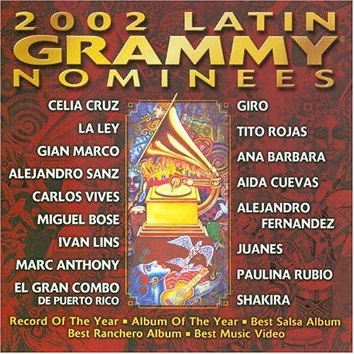CD VARIOUS ARTISTS - 2002 LATIN GRAMMY NOMINEES