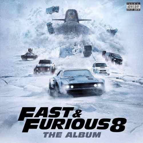 CD VELOZES E FURIOSOS 8 - TRILHA SONORA DO FILME FAST & FURIOUS 8