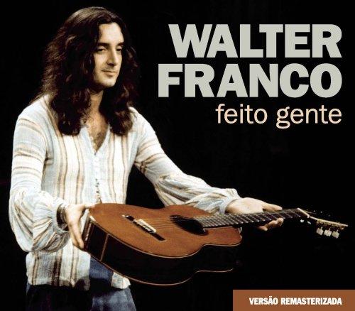 CD WALTER FRANCO  - FEITO GENTE (REMASTERIZADO) - 2 CDS