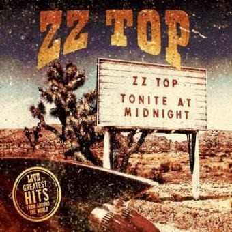 Cd Zz Top Live Greatest Hits From Around The Word (novo)