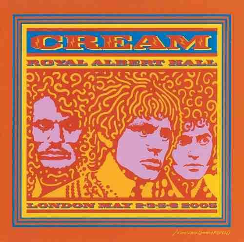 CD DUPLO - CREAM - ROYAL ALBERT HALL - LONDON MAY,  2-3-5-6 2005