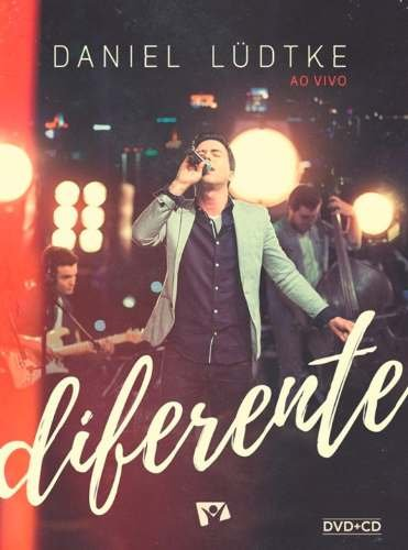 Daniel Lüdtke - Diferente - Original Lacrado Dvd + Cd