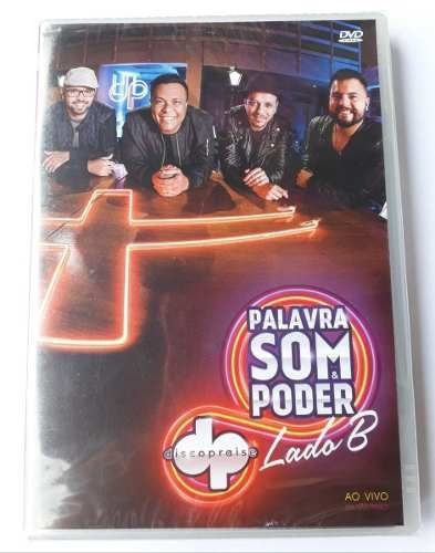 DVD DISCOPRAISE - PALAVRA, SOM & PODER -LADO B AO VIVO