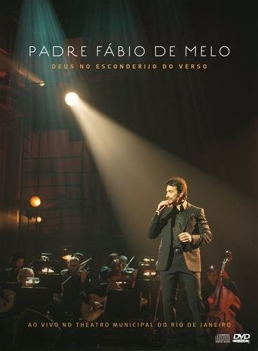 Dvd+ 2 Cd´s Pe. Fábio De Melo Deus No Esconderijo Do Verso