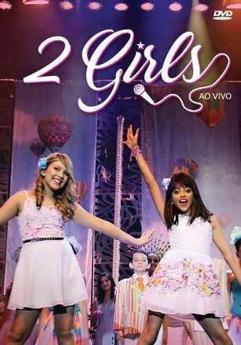 DVD - 2 Girls - Ao Vivo - Original Lacrado - Envio Imediato